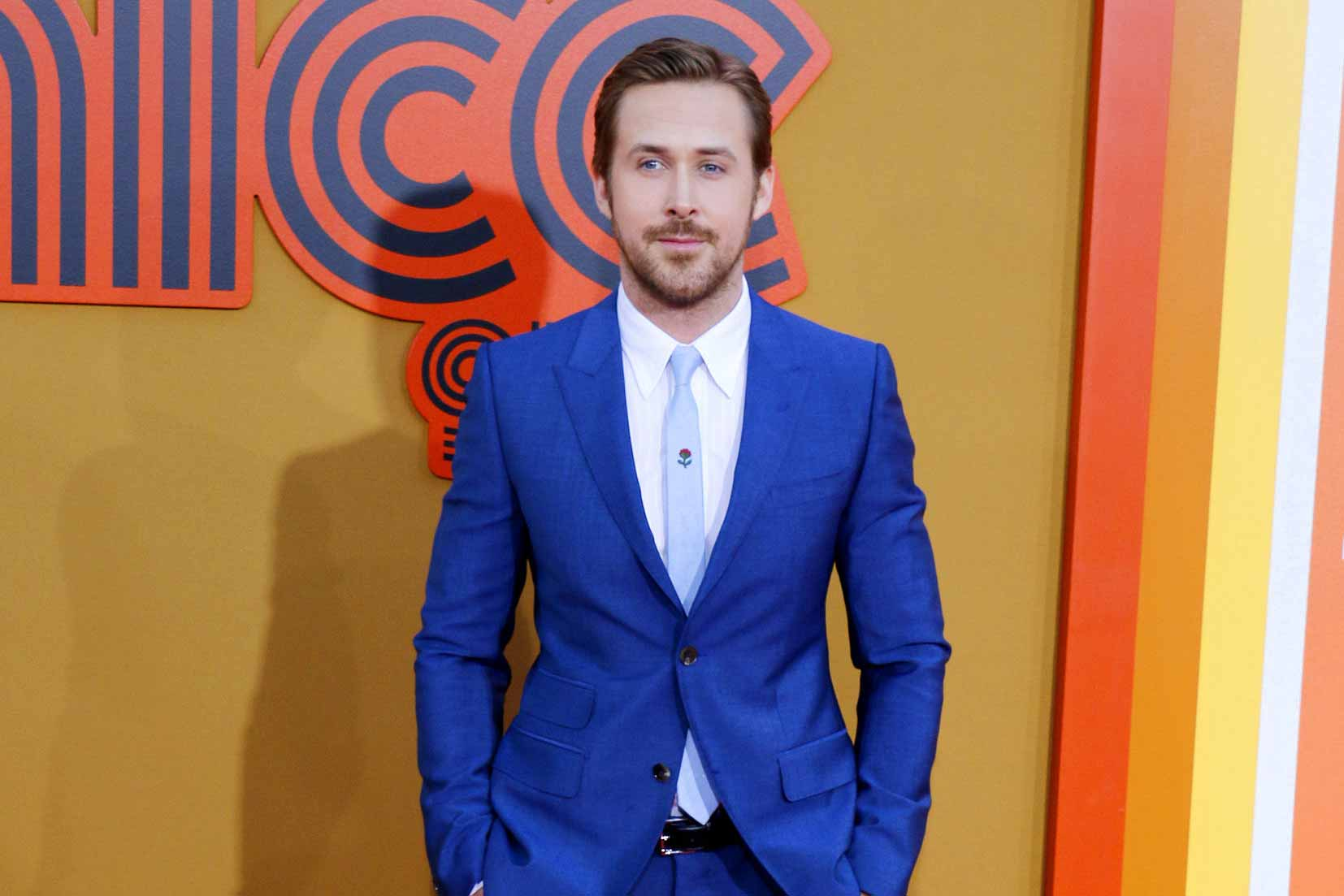 How to Wear a Suit like Ryan Gosling