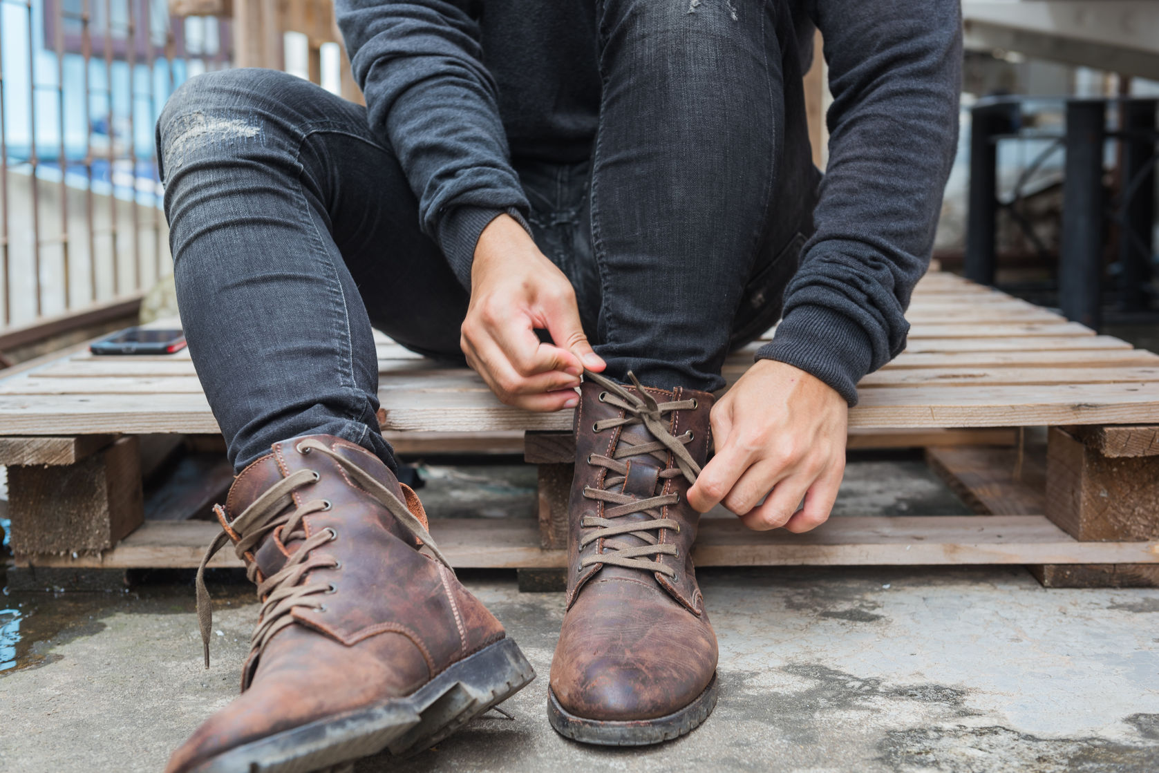mens casual boots to wear with jeans